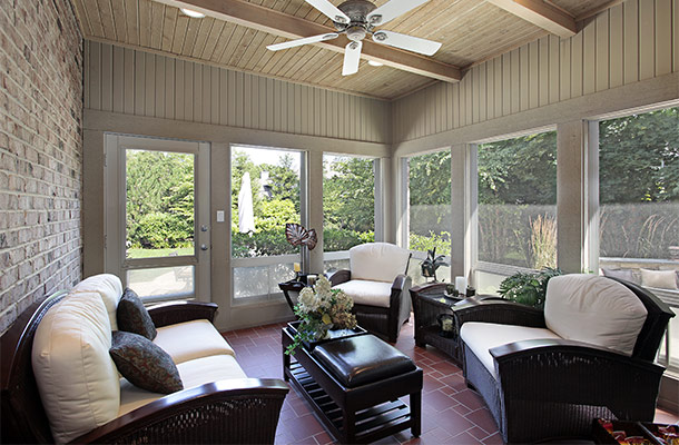 Enclosed patio room ideas house decor ideas for Enclosed porch furniture ideas