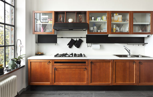 Style Update: Open Shelves vs. Glass Cabinets | Trusted Home ...